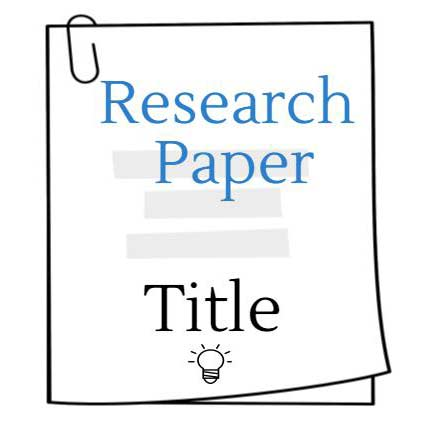 Research Paper Title: 5 Writing Tips