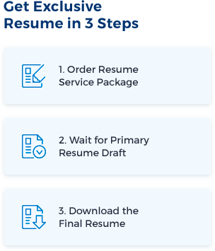 Buying Resume in Three Steps