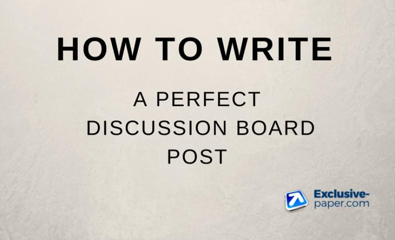 how-to-write-discussion-board-post