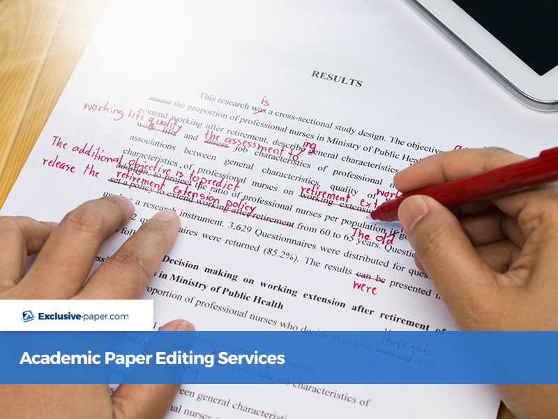 Academic Paper Editing Services