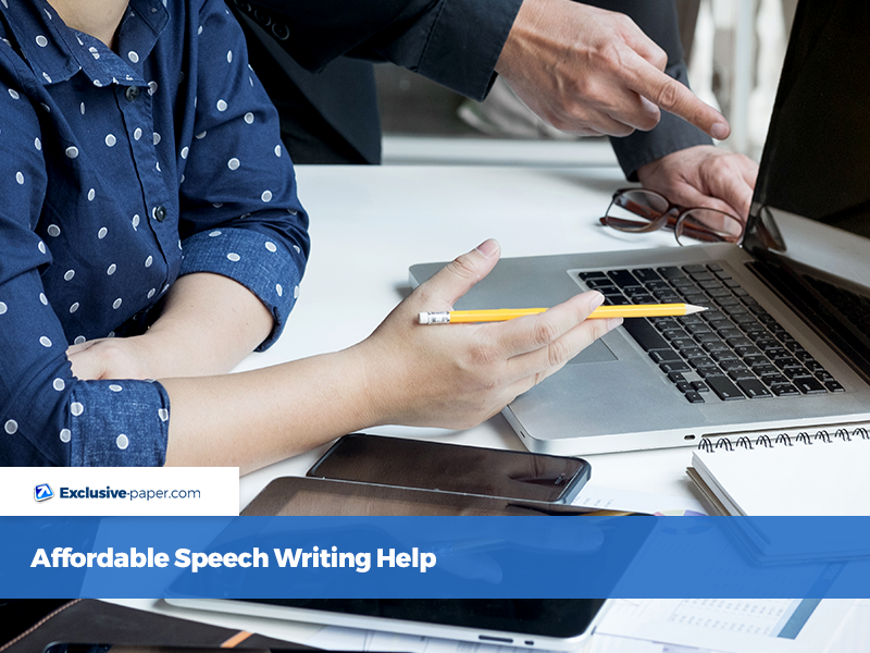 Affordable Speech Writing Help