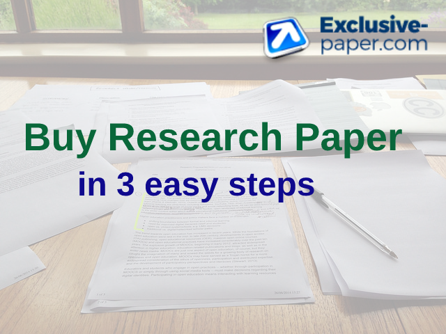 research paper to buy Research paper writing tends to be challenging for many students however, it is very easy to write especially when one understands the requirements of the research paper.