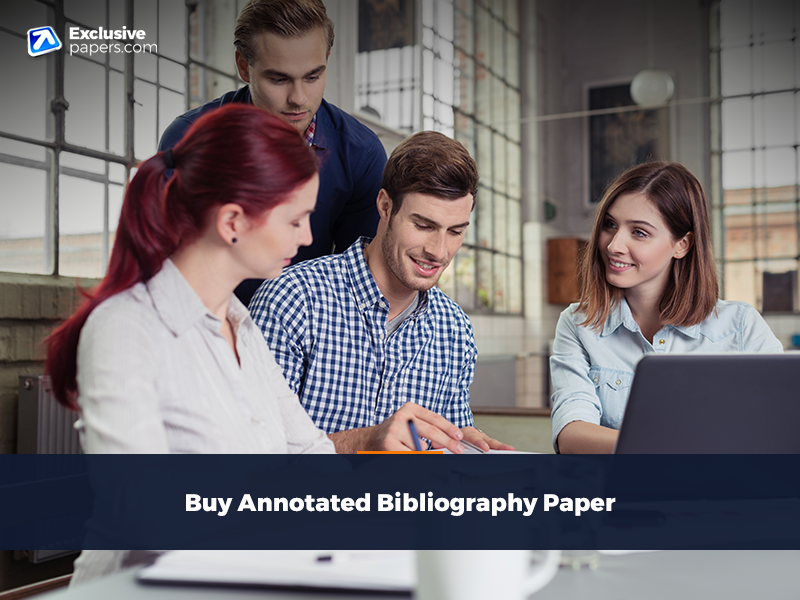 Buy Annotated Bibliography Paper