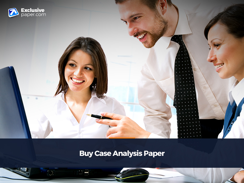 Buy Case Analysis Paper