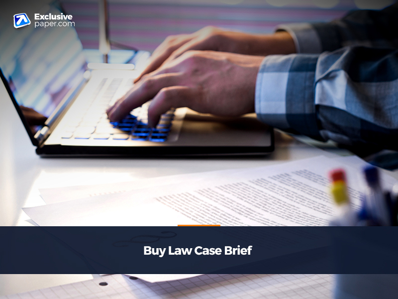 Buy Law Case Brief