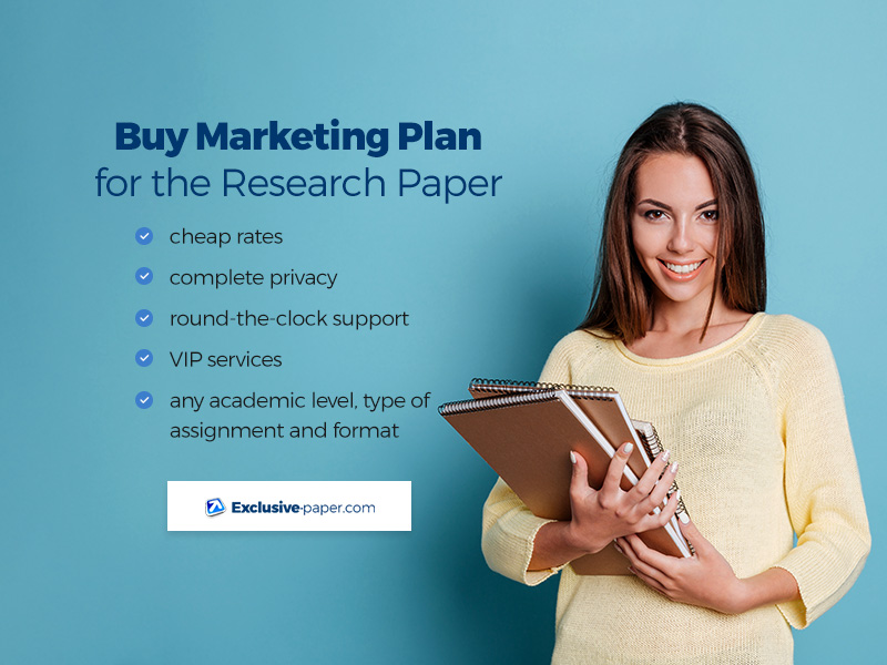 Buy Marketing Plan for the Research Paper
