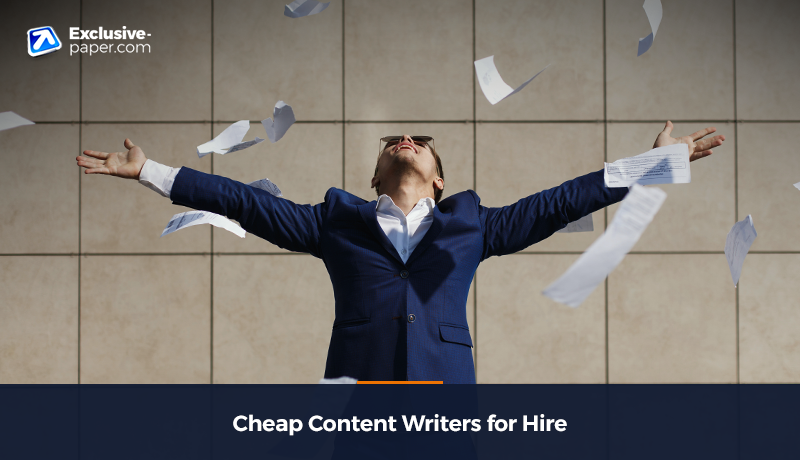 Cheap Content Writers for Hire