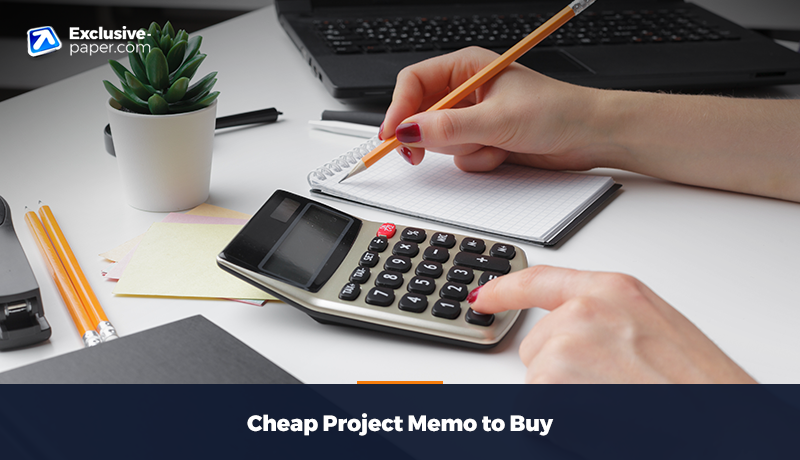 Cheap Project Memo to Buy