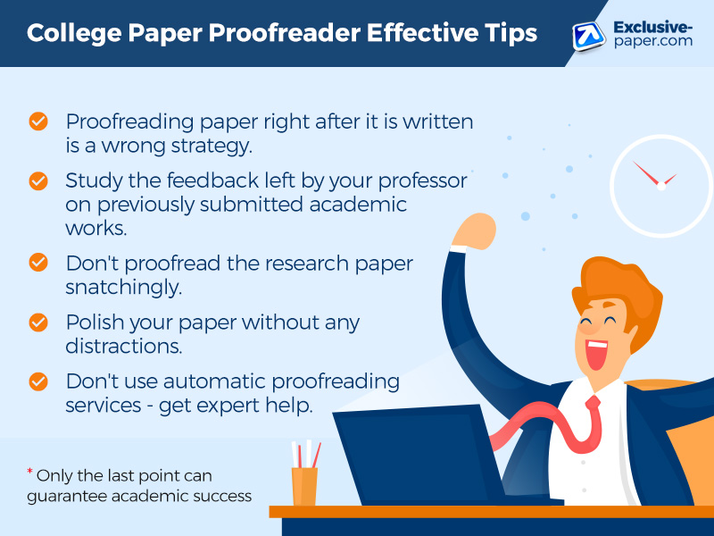 College Paper Proofreader Effective Tips