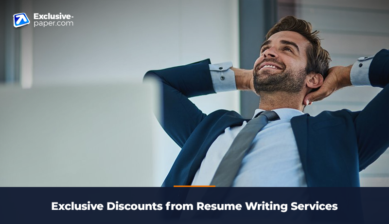 Exclusive Discounts from Resume Writing Service