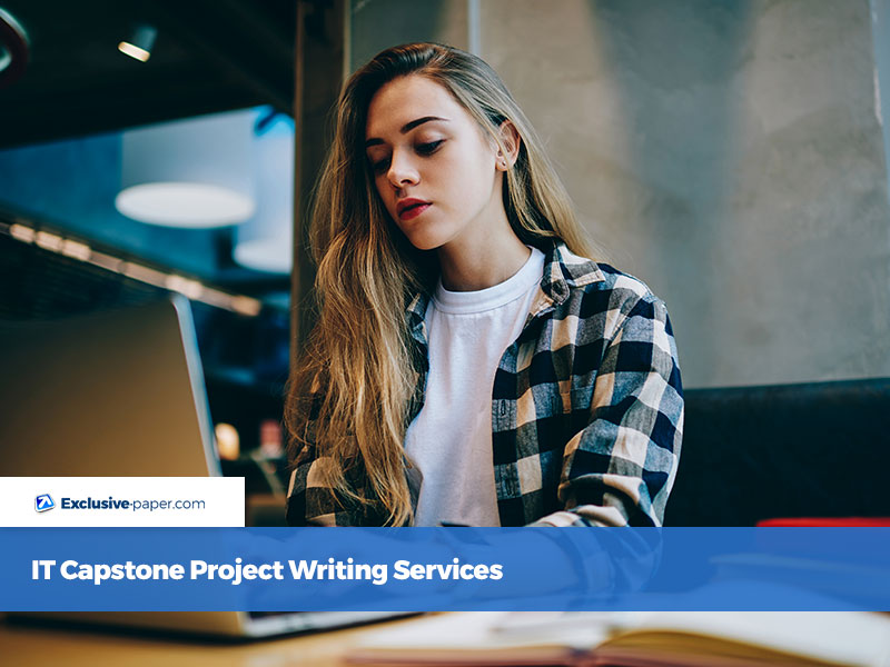 IT Capstone Project Writing Services
