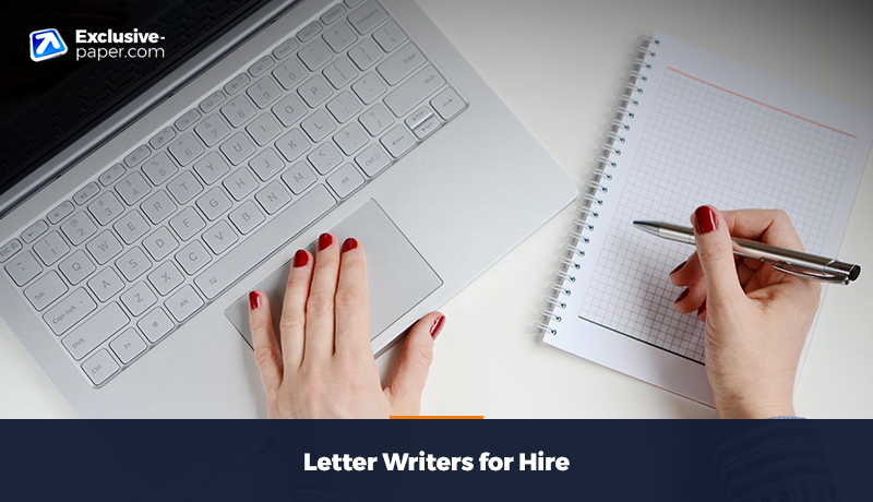 Letter Writers for Hire