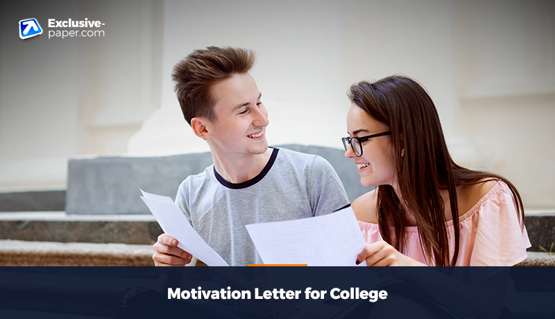 Motivation Letter for College
