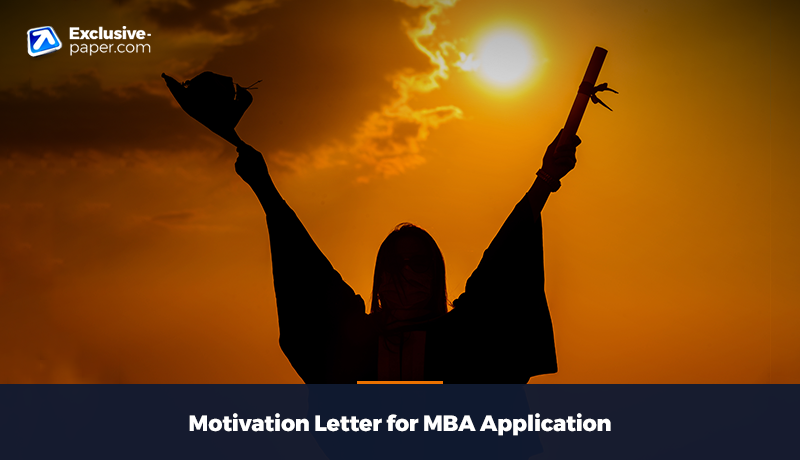 Motivation Letter for MBA Application