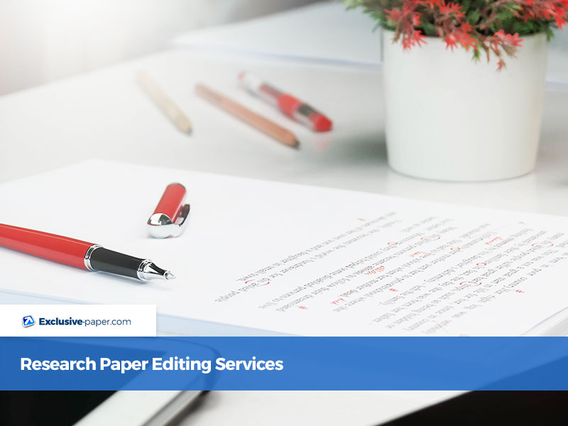 Research Paper Editing Services