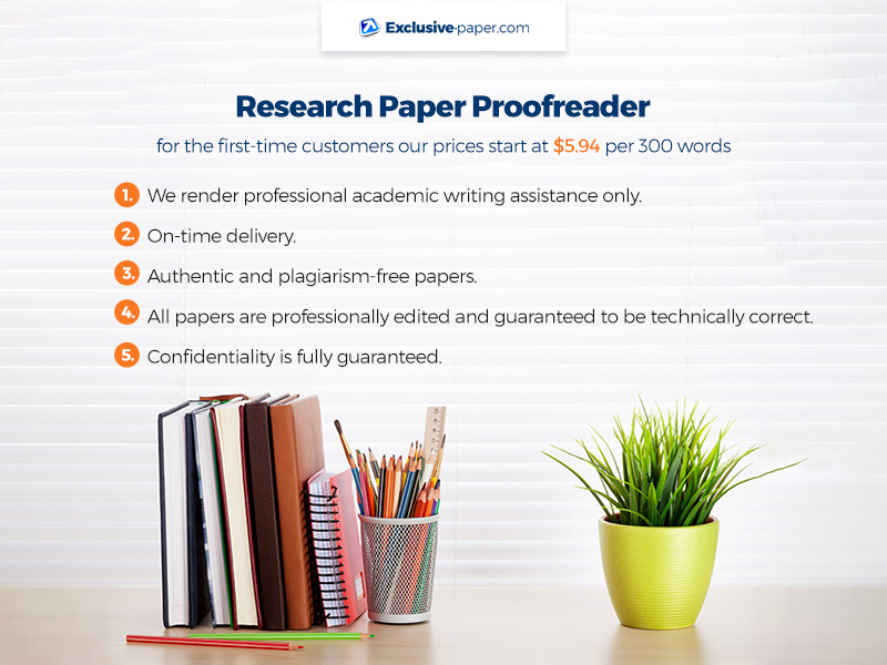 Research Paper Proofreader